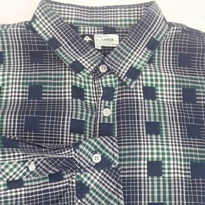 LRG Lifted Research Group Shirt Plaid Large